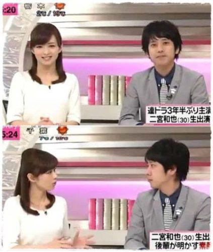 二宮和也と伊藤綾子の馴れ初めと結婚への軌跡は?共演がきっかけ!?