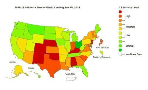 アメリカのインフルエンザ流行をなぜ報道しない?報道規制があるの?